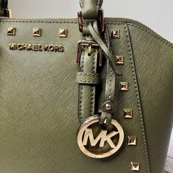 0cb2c06acafb Michael Kors Bags   Ciara Medium Studded Messenger Bag   Poshmark
